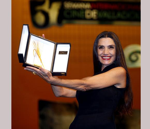 &Aacute;ngela Molina y Enrique Urbizu, premiados en el Festival de Cine de Zaragoza
