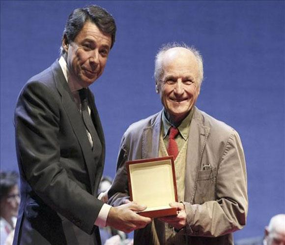 Antonio L&oacute;pez, 'embajador' y Medalla Internacional de las Artes de Madrid