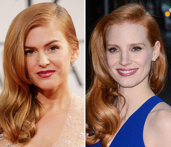 Jessica Chastain, Isla Fisher, Julianne Moore&hellip; Las pelirrojas &iexcl;est&aacute;n de moda!