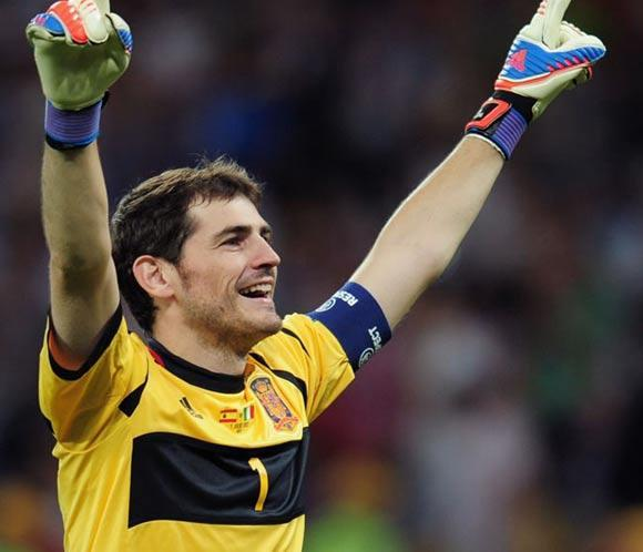 Iker Casillas dona 25.000 euros del premio Pr&iacute;ncipe de Asturias a causas solidarias