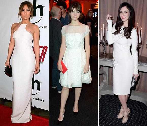 Tendencias: Las celebrities dan el 'sí quiero' al color blanco