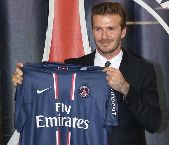 David Beckham ficha por el Par&iacute;s Saint-Germain y donar&aacute; su sueldo a una organizaci&oacute;n ben&eacute;fica infantil