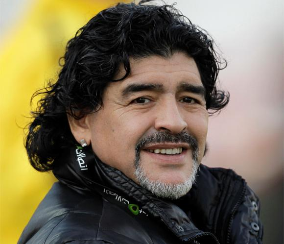 Diego Armando Maradona ha sido padre de un ni&ntilde;o