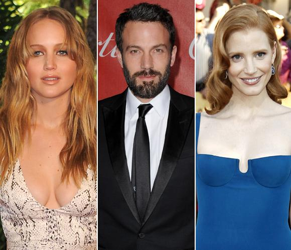 Ben Affleck, Jessica Chastain y Jennifer Lawrence se suman a la lista de presentadores de los Oscar